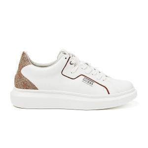 Sneaker bianca/beige Guess