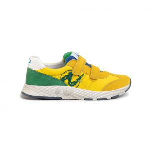 Sneaker gialla/verde Naturino