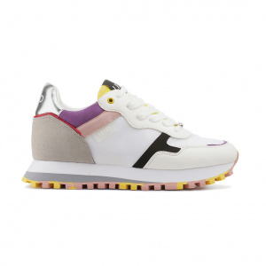 Sneaker bianca/multicolor Liu Jo