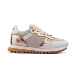 Sneaker oro rosa/bianca Liu Jo