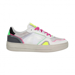 Sneaker bianca/multicolor Crime London - IN ARRIVO