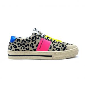 Sneaker leopardata/multicolor Playground
