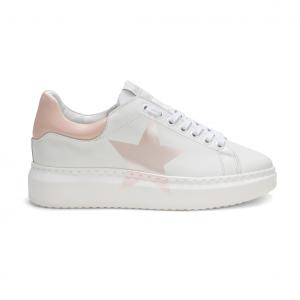 Sneaker bianca/peonia NiRa Rubens