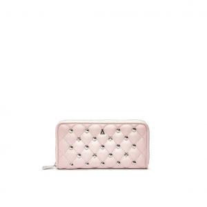 Portafoglio rosa matelassé PashBag