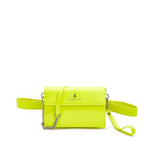 Clutch lime PashBag