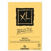 BLOCCO BRISTOL 50FG 180GR A4 XL COLLATO CANSON