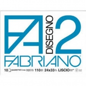 ALBUM FA2 10FG 24X34 5MM QUADRETTATO