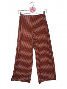 Pantalone jersey rigato
