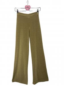 Pantalone jersey lurex