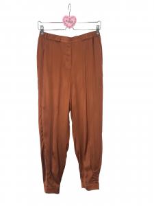 Pantalone di raso fondo stretto