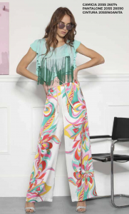 Pantalone flower pop