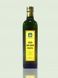 Olio extravergine d'oliva Bottiglia 0,5 L  confezione da 4 bottiglie