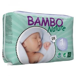Pannolini sottili ultrassorbenti New Born 2-4 kg - 28 pannolini