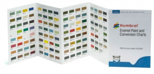 Humbrol Enamel Paint and Conversion Chart