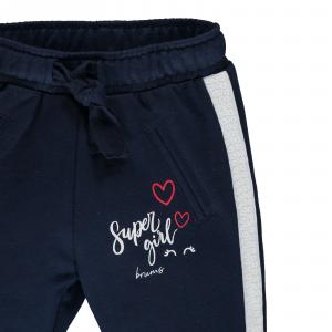 Pantalone in felpa leggera con paillettes