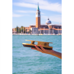 Vaporetto in legno; Pieces of Venice