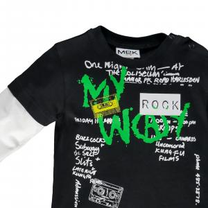 T-shirt jersey doppia manica