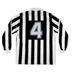 1990-91 Juventus Maglia Home  #4  E. Corini Match worn XXL (Top)