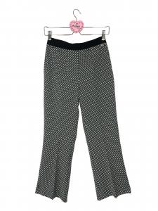 Pantalone trombetta fantasia