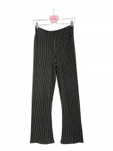 Pantaloni a zampa tricot