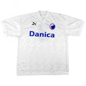 1993-94 FC Copenhagen Maglia Match Worn vs Milan #3 Tur  C.O.A