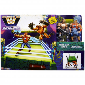 Masters of the WWE Universe: ​​​​RING  + 2 personaggi esclusivi