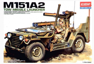 M151A2 TOW MISSILE LAUNCHER ACADEMY 13406