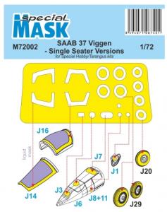 Mask for SAAB 37 Viggen Single Seater