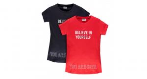 t-shirt 2 pezzi 4-14 anni