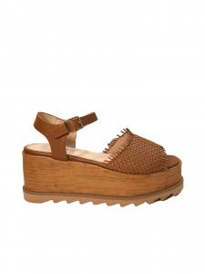 Sandalo platform legno