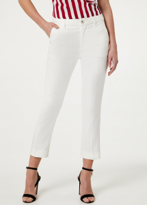 Liu Jo jeans Pantalone chino diamond vita regolare FA0355T4198