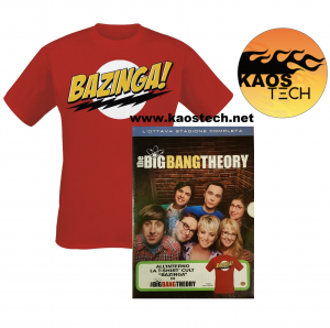 Cofanetto THE BIG BANG THEORY stagione 8 Edizione Speciale con T-Shirt (dvd)