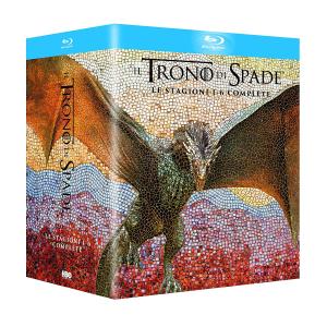Cofanetto: IL TRONO DI SPADE stagioni 1-6 Edizione Speciale (Blu-Ray)