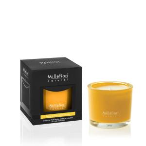 Candela Millefiori - Legno e Fiori d'Arancio