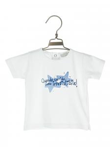 t-shirt cotone 3-36 mesi