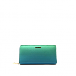 Portafoglio blu/verde/degrdé Cromia