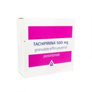 Tachipirina 500mg 20 Bustine Granulato Effervescente