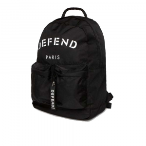 Zaino Defend Paris Black Unisex