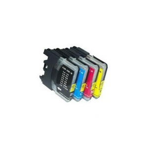 18MLL Brother Compatible LC61Y LC980Y LC1100Y ALTA CAPACITA 1 pz