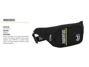 WAIST BAG JUVENTUS GET READY