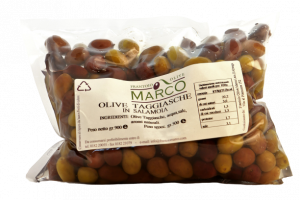 Olive taggiasche in salamoia in busta 500g