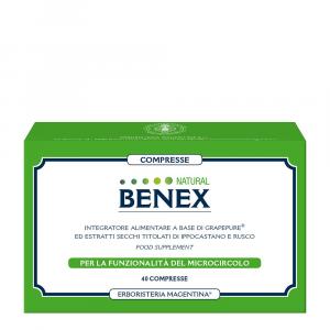 Compresse Natural Benex40 compresse