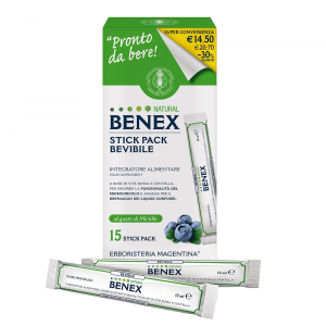 Stick Pack Bevibile Natural Benex
