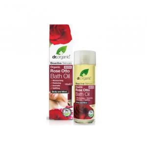 Dr. Organic Rose Otto Bath Oil 100ml