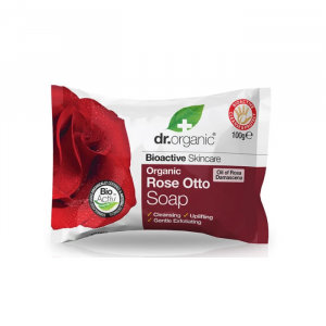 Dr. Organic Rose Otto Soap 100g