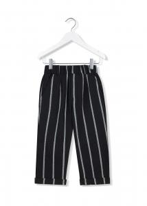 pantalone rigato 3-10 anni