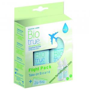 Biotrue Solucion Unica Flight Pack 2x60ml