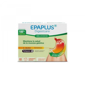 Epaplus Digestcare Helicocid 40 Tablets
