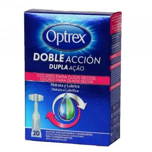 Optrex Doble Acción Dry Eyes Eyedrops 20x0.5ml