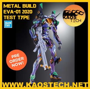 Metal Build Neo Genesis Evangelion EVA 01 2020 Test Type by Bandai